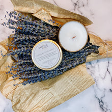 Load image into Gallery viewer, conquer from within | Lavender Scented Candle