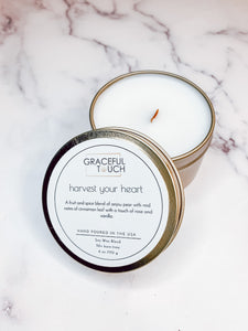 harvest your heart | Anjou Pear Scented Candle