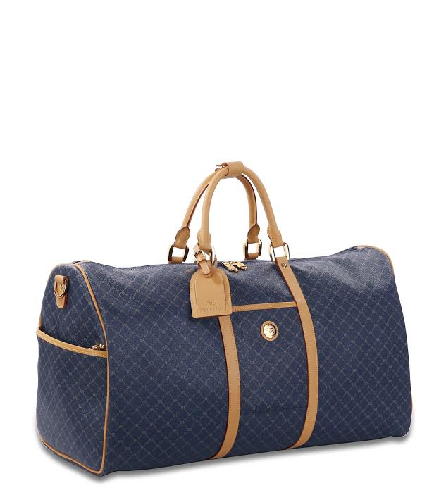 Rioni Signature Navy MOSCOW 22 inch Duffel Traveler, STA20054 -  RHEAS.ONLINE