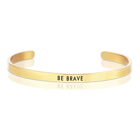 BE BRAVE Message Band Bracelet -  ID You & Co.