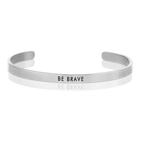 BE BRAVE Message Band Bracelet -  RHEAS.ONLINE