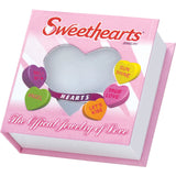 "Sweethearts®  Enamel ""LOVE"" Heart on 16"" Sterling Silver Chain Necklace with Gift Box -  RHEAS.ONLINE"
