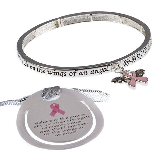 Breast Cancer Blessing Bracelet -  ID You & Co.