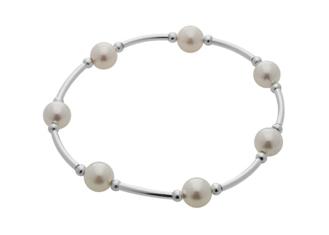 Blessing Bracelets by Count Your Blessings Bracelet, White Pearl -  RHEAS.ONLINE