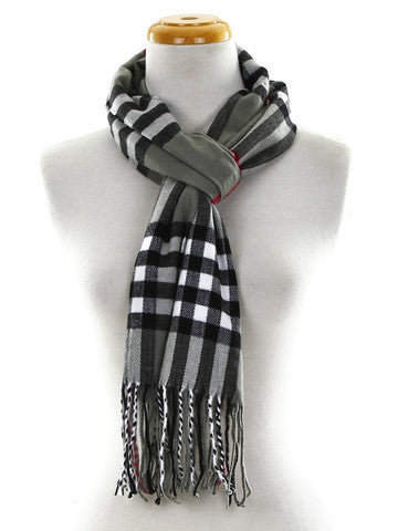 The Tartan Plaid Muffler Scarf, GIFT WITH PURCHASE -  ID You & Co.