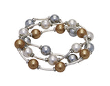 Count Your Blessings Crystal & Pearl Bracelet, 10mm -  RHEAS.ONLINE