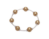 Count Your Blessings Crystal & Pearl Bracelet, 10mm -  ID You & Co.