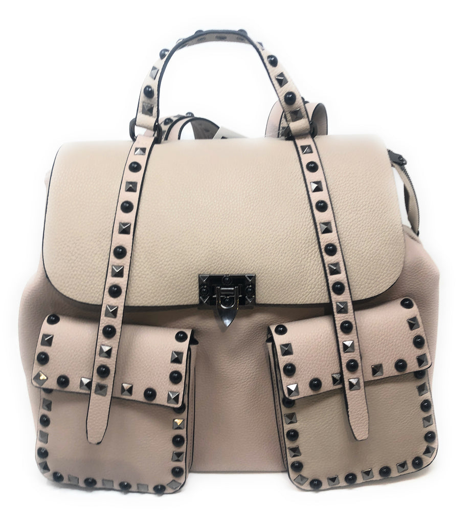 INZI Studded Two Pocket Backpack -  ID You & Co.