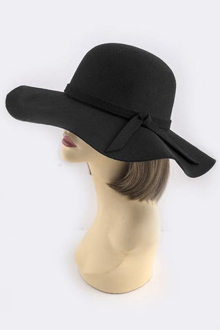 Wide Brim Floppy Hat -  ID You & Co.