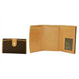 Rioni Signature Multi Fold Button Wallet STW003 -  RHEAS.ONLINE