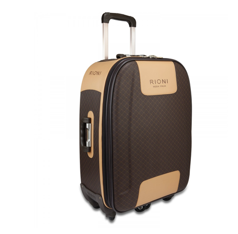 Rioni Signature Brown 360 Spinner Luggage, Large ST20115L -  ID You & Co.