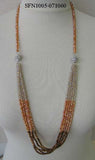 Magnetic Two Section Beaded Necklace -  ID You & Co.