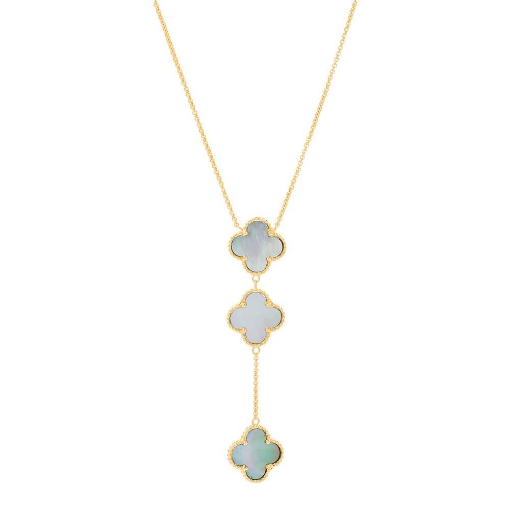 THREE CLOVER NECKLACE -  ID You & Co.