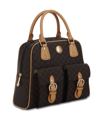 Rioni Signature NAOMI Top Handle Organizer Handbag, ST-20034 -  RHEAS.ONLINE