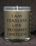 GOOD WORKS INSPIRATIONAL METALLIC CANDLES -  ID You & Co.