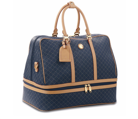 NEW NAVY Rioni Signature Dome Duffel GENEVA Traveler  STA20051 -  RHEAS.ONLINE