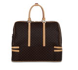 Rioni Brown Signature Duffel Dome Traveler  Geneva ST20051 -  RHEAS.ONLINE