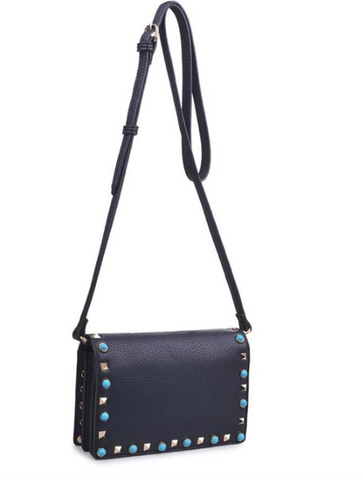 Urban Expressions STORM Studded Crossbody -  ID You & Co.