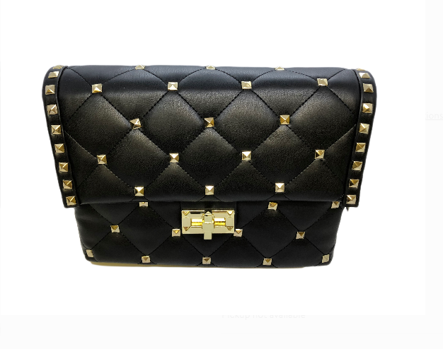 INZI INSPIRED VALENTINO ROCKSTUD QUILTED HANDBAG -  ID You & Co.