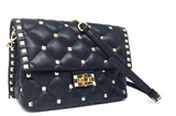 STUDDED QUILTED HANDBAG BY INZI HANDBAGS SALE! -  RHEAS.ONLINE