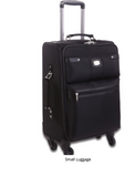 NEW Rioni MANHATTAN SOLD BLACK Spinner Luggage, Small BM20121S -  ID You & Co.