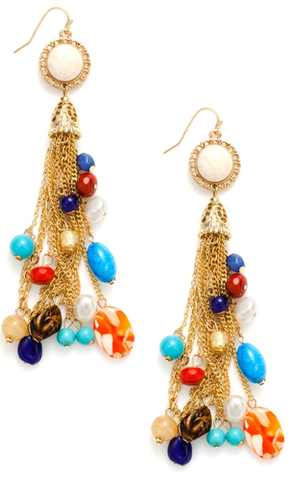 Retro Earrings by Spring Street -  ID You & Co.