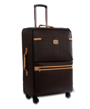 Rioni MANHATTAN Brown Signature Spinner Luggage, Small ST20121S -  RHEAS.ONLINE