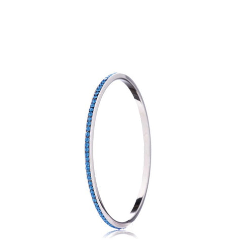 Jimmy Crystal Bangle Bracelet BJ101 -  RHEAS.ONLINE