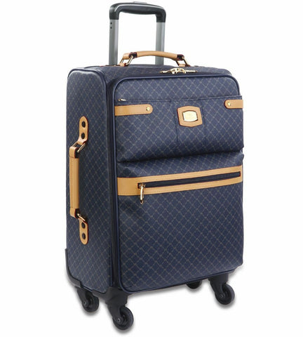 NEW Rioni Signature Navy Spinner Luggage, Small STA20121S -  RHEAS.ONLINE