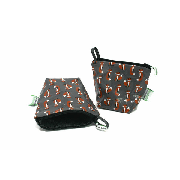 EcoBagIt! Zip Snack Bag LIL' MR FOX - Green City Living Wholesale