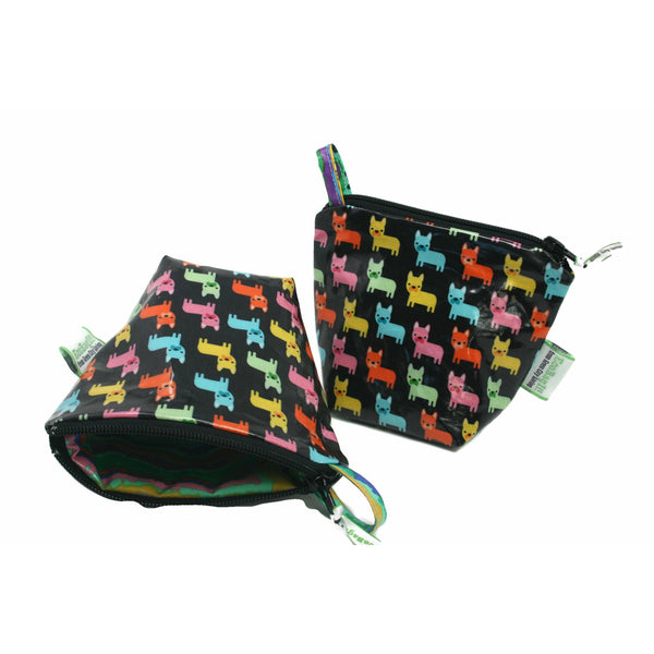 EcoBagIt! Zip Snack Bag FRENCH BULLDOGS - Green City Living Wholesale
