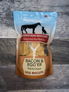 Bacon & Egg'er Biscuits