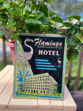Load image into Gallery viewer, Flamingo Hotel Sign