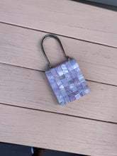 Load image into Gallery viewer, Lavender Embellished Marble Mini Bag