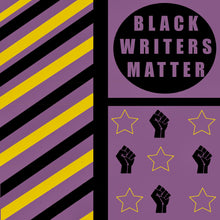 Load image into Gallery viewer, Black Writers Matter Pin + Sticker