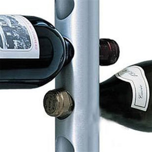 Creative Wall Wine Rack for 8 or 12 Wines - Wine Rack Ninja