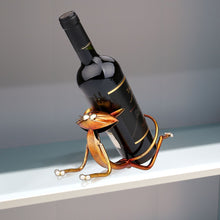 Yoga Cat Wine Holder - Wine Rack Ninja