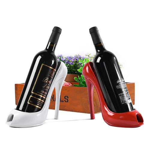 High Heel Shoe Wine Bottle Holder - Wine Rack Ninja