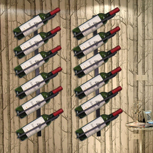 High Quality Iron Wall Mounted Wine Rack Organizer - Wine Rack Ninja