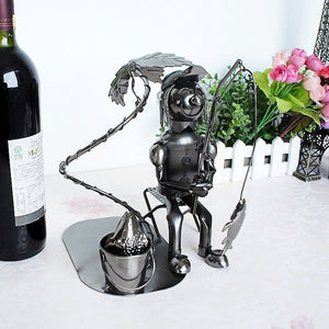 Fisherman  Wine Holder - Wine Rack Ninja