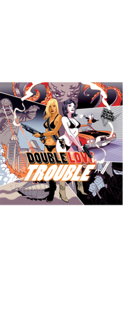 Double Love Trouble Poster