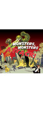 Monsters, Monsters Attack! Poster