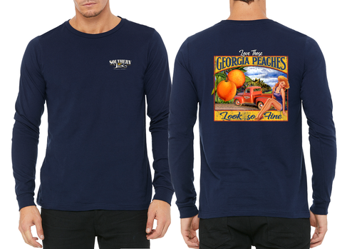 Georgia Peaches Long-Sleeve