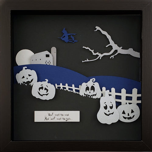The Haunted - Pumpkin Patch (Silver) - The PaperClips Company