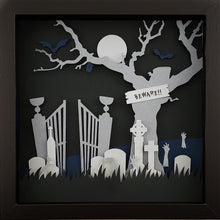 Load image into Gallery viewer, The Haunted - Graveyard (Silver) - The PaperClips Company
