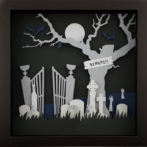 The Haunted - Graveyard (Silver) - The PaperClips Company