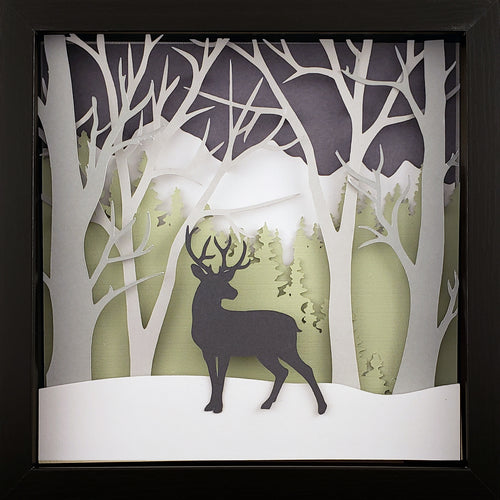 Into the Woods (Green) - Deer - The PaperClips Company
