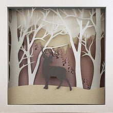 Load image into Gallery viewer, Into the Woods (Purple) - Deer - The PaperClips Company