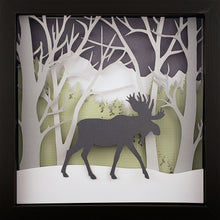 Load image into Gallery viewer, Into the Woods (Green) - Moose - The PaperClips Company