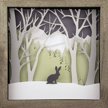 Load image into Gallery viewer, Into the Woods (Green) - Rabbit - The PaperClips Company